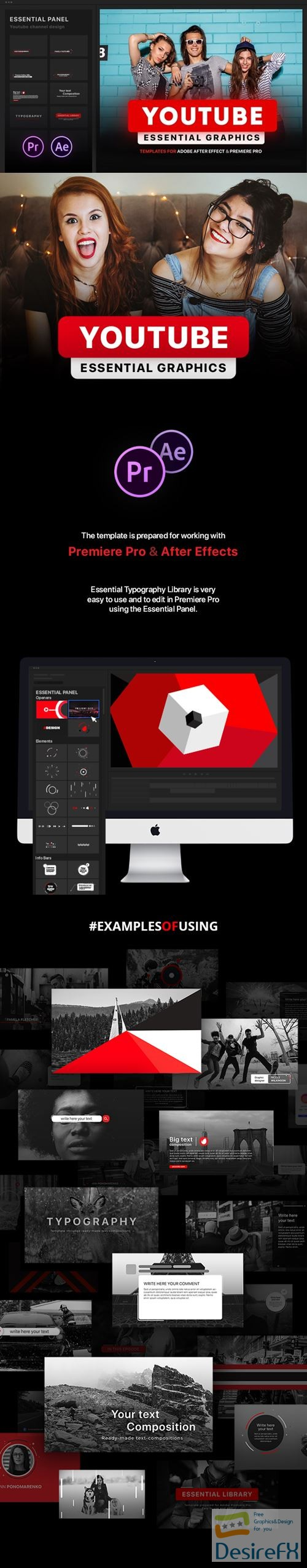 Desirefx com | Download Videohive 21601793 Youtube Essential Library