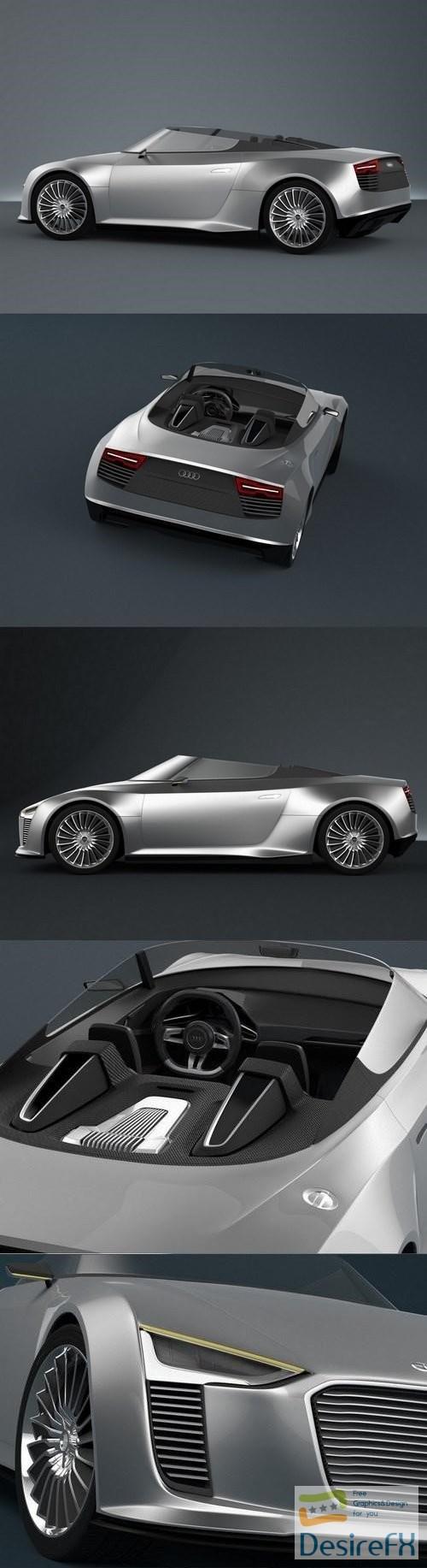Audi E-Tron Spyder 3D MODEL