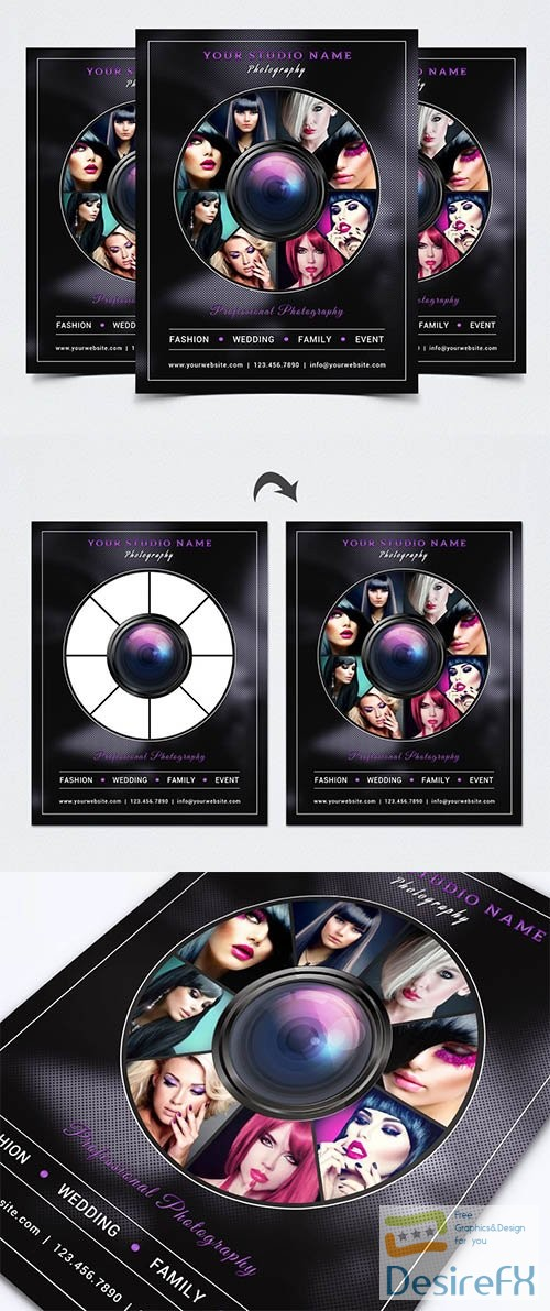 Photography Flyer Template 2