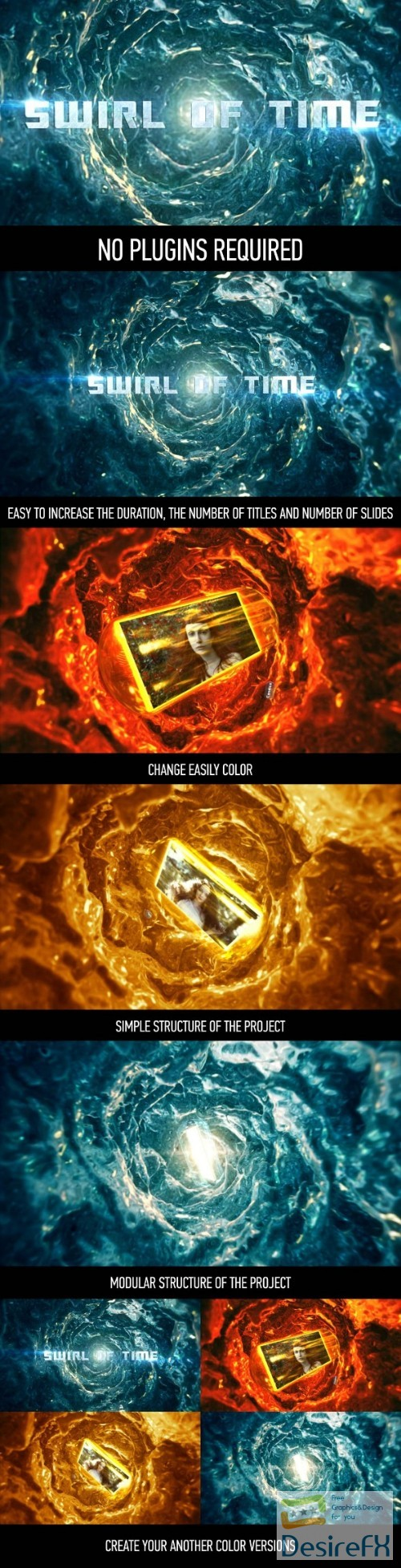 after-effects-projects - Videohive Swirl of Time 15774949
