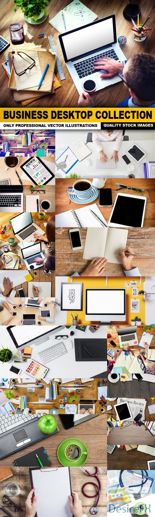 stock-images - Business Desktop Collection - 25 HQ Images