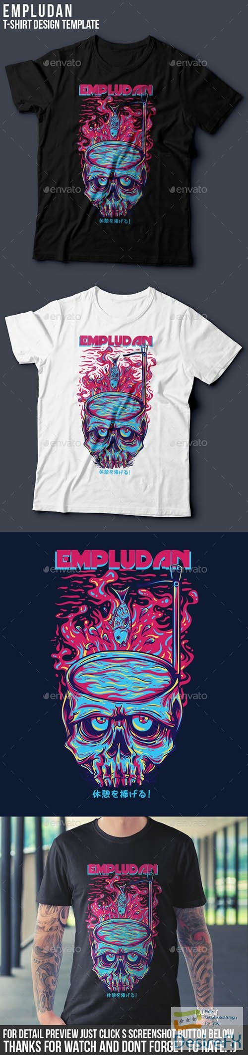 t-shirts-prints - Empludan T-Shirt Design 13199864
