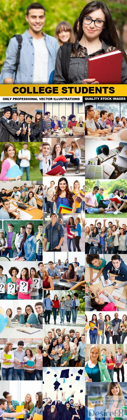 stock-images - College Students - 25 HQ Images