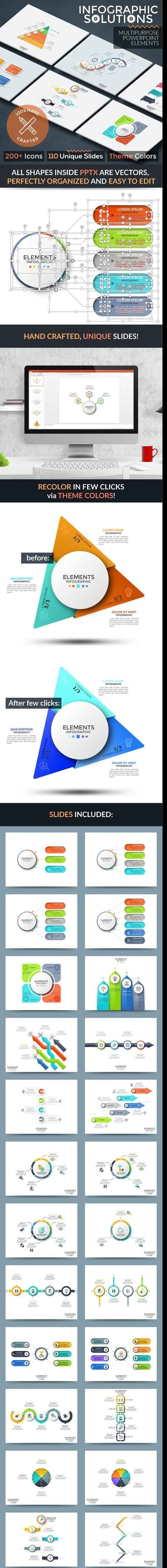 powerpoint-ppt - Infographic Solutions. Powerpoint Template 22087401