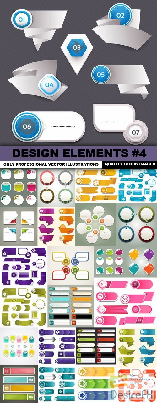 stock-vectors - Design Elements #4 - 25 Vectors