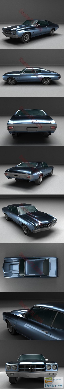 3d-models - Chevrolet Chevelle SS 3D Model