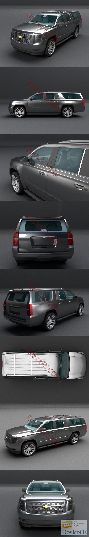 Chevrolet Suburban 3D Model