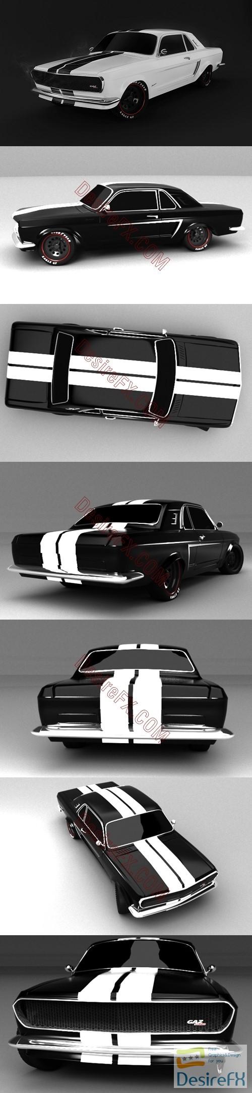 3d-models - Concept Volga 3D Model