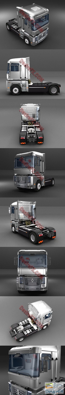 Truck Renault Magnum 3D Model