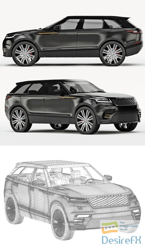 3d-models - Range Rover Velar 3D Model