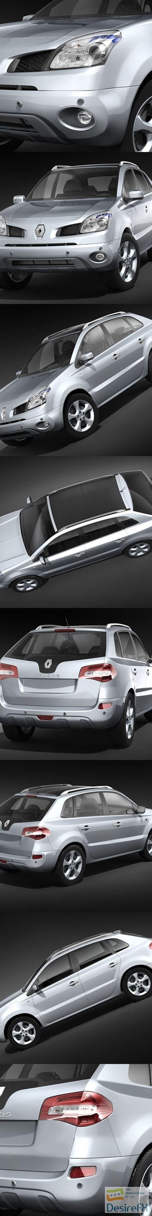 3d-models - Renault Koleos 2009 3D Model