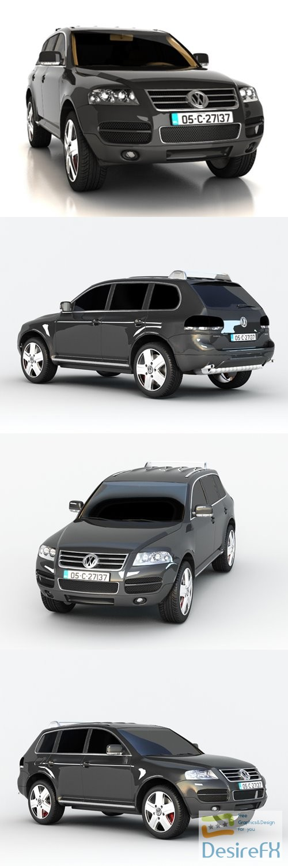 3d-models - Volkswagen Touareg 3D Model