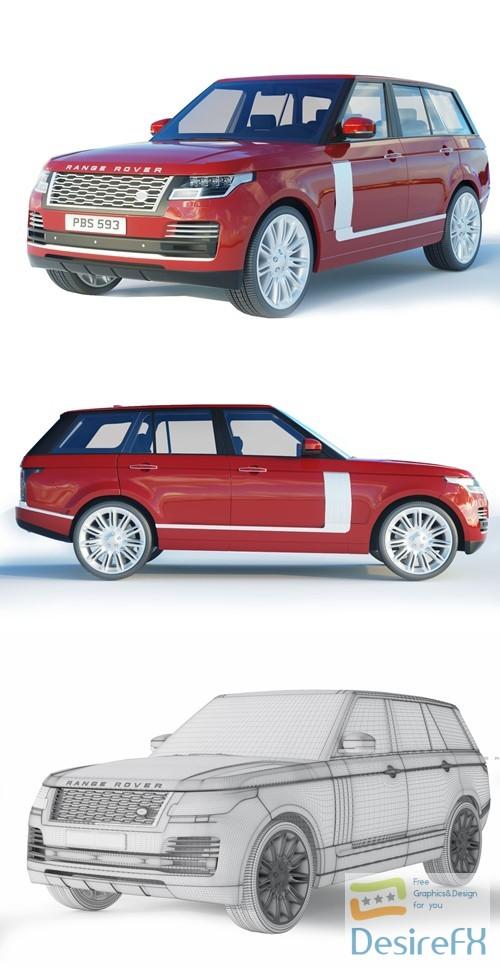3d-models - Range Rover Autobiography L405 3D Model