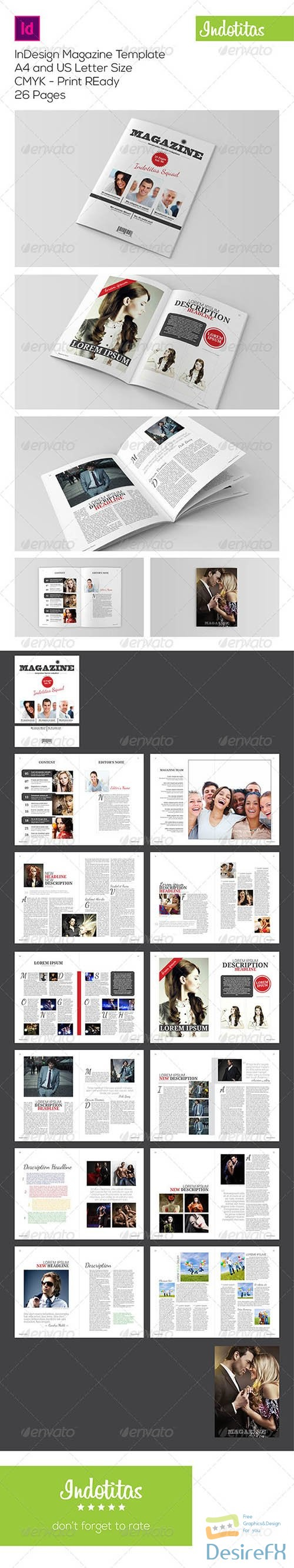 other - InDesign Magazine Template 7223351