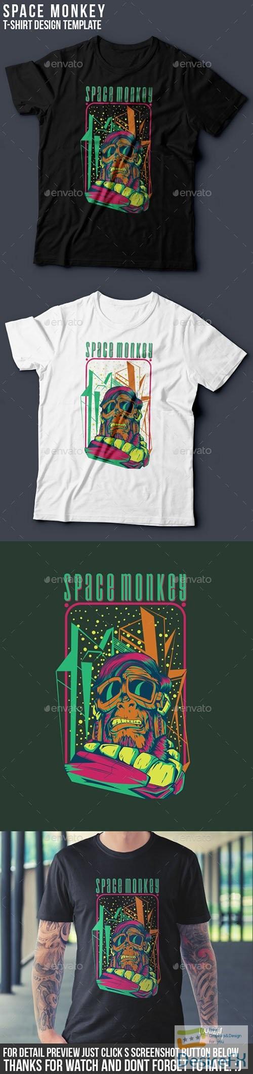 t-shirts-prints - Space Monkey 8854688