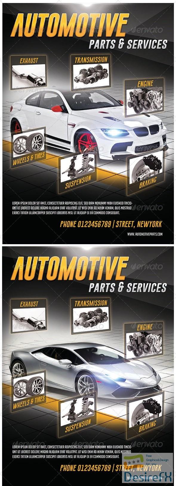 Automotive Parts & Services Flyer 7144154