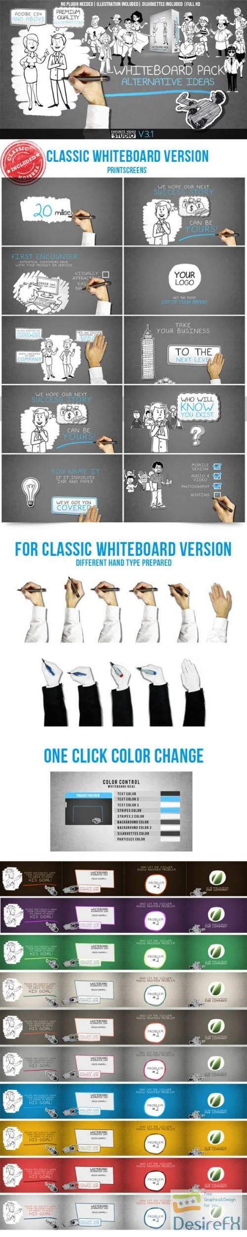 Desirefx com | Download Videohive Whiteboard: Alternative