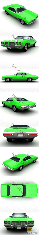 3d-models - Pontiac LeMans Coupe 1971 3D Model