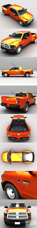 3d-models - Dodge Ram 3500 3D Model