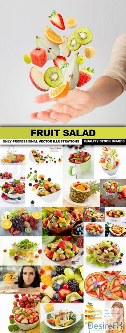 Fruit Salad - 25 HQ Images