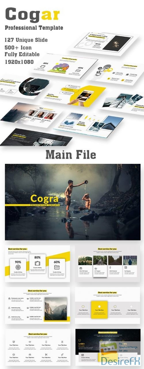 Cogra Professional PowerPoint Template 22363047