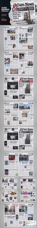 other - 20 Page Newspaper Design v3