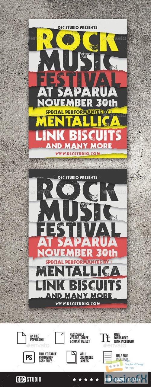 GR – Rock Music Festival Flyer 20964236