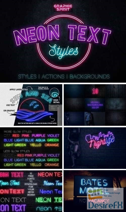 styles-asl - Neon Text Layer Styles & Extras 2279828