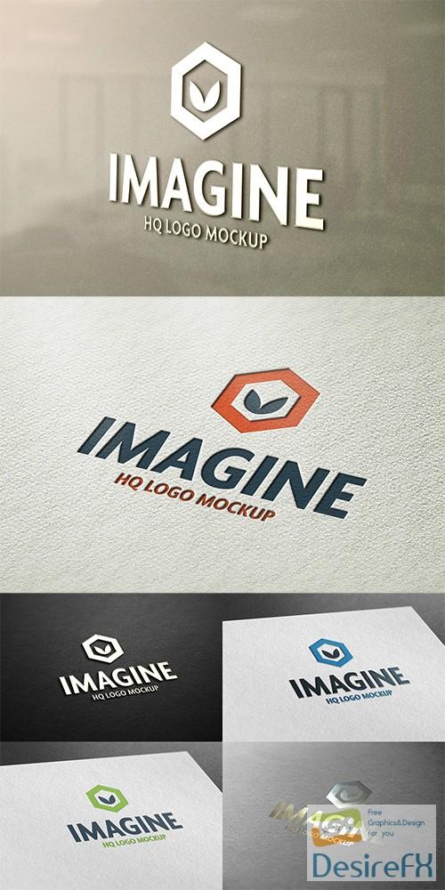 mock-up - Logo Mockup Set V2