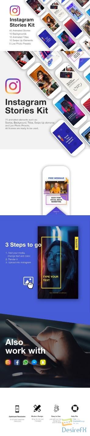Desirefx com | Download Videohive Instagram Stories Kit
