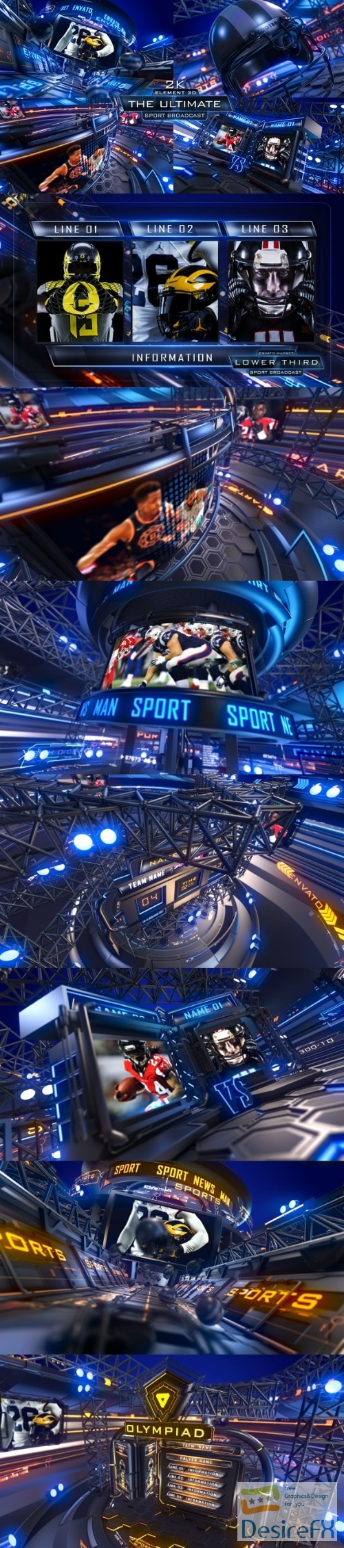 after-effects-projects - Videohive SPORT BROADCAST 22167657