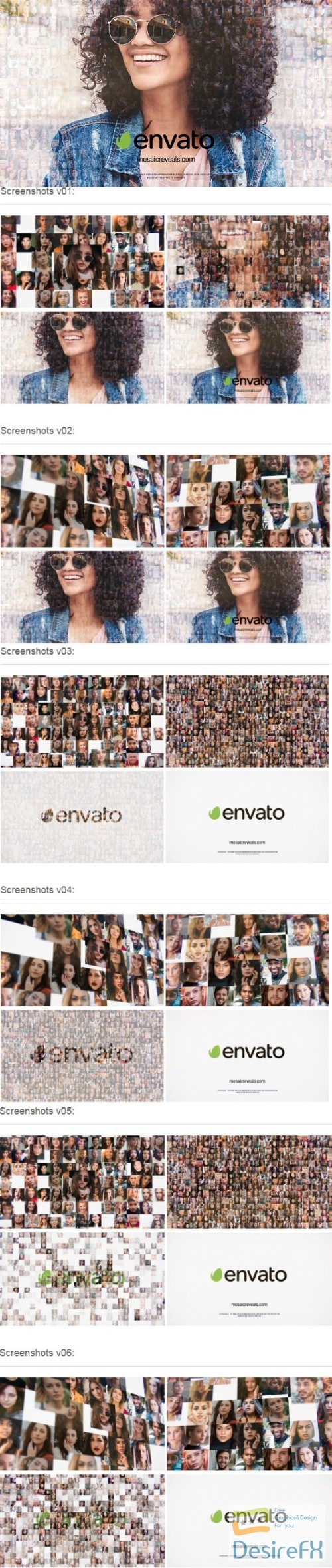 Videohive Mosaic Multi-Photo Reveals 22097985