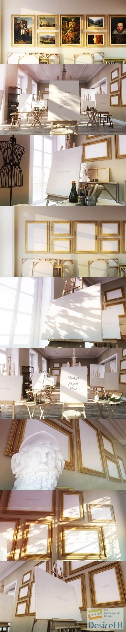 Videohive Atelier Photo Gallery 18649902