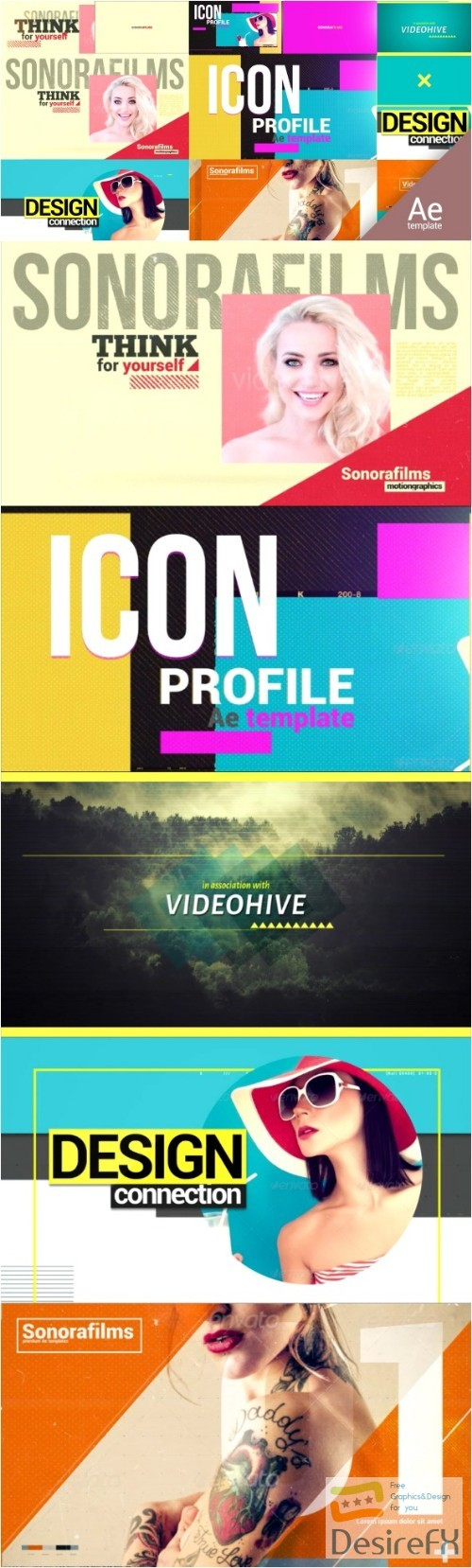 after-effects-projects - Videohive Quick Intros Bundle 16230921