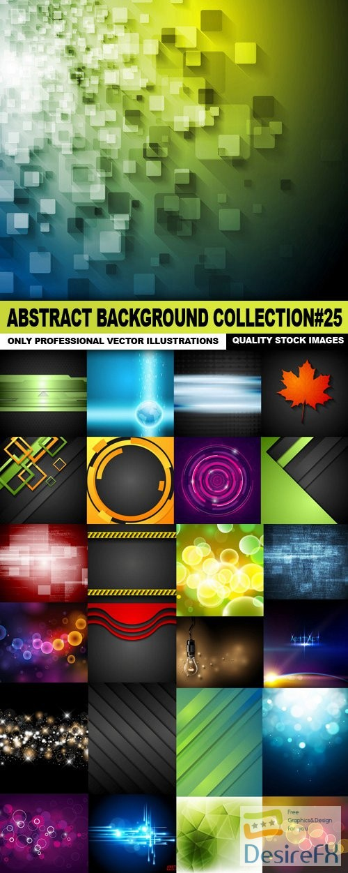 stock-vectors - Abstract Background Collection#25 - 25 Vector
