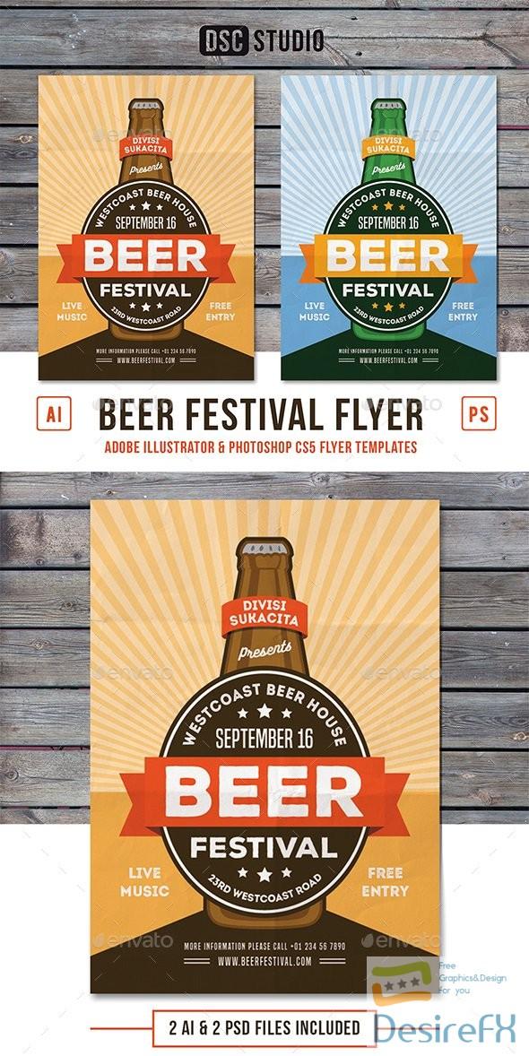 GR – Beer Festival Flyer 17831673
