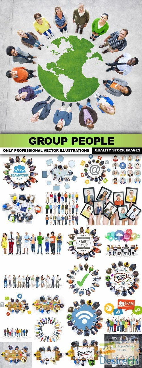 Group People - 25 HQ Images