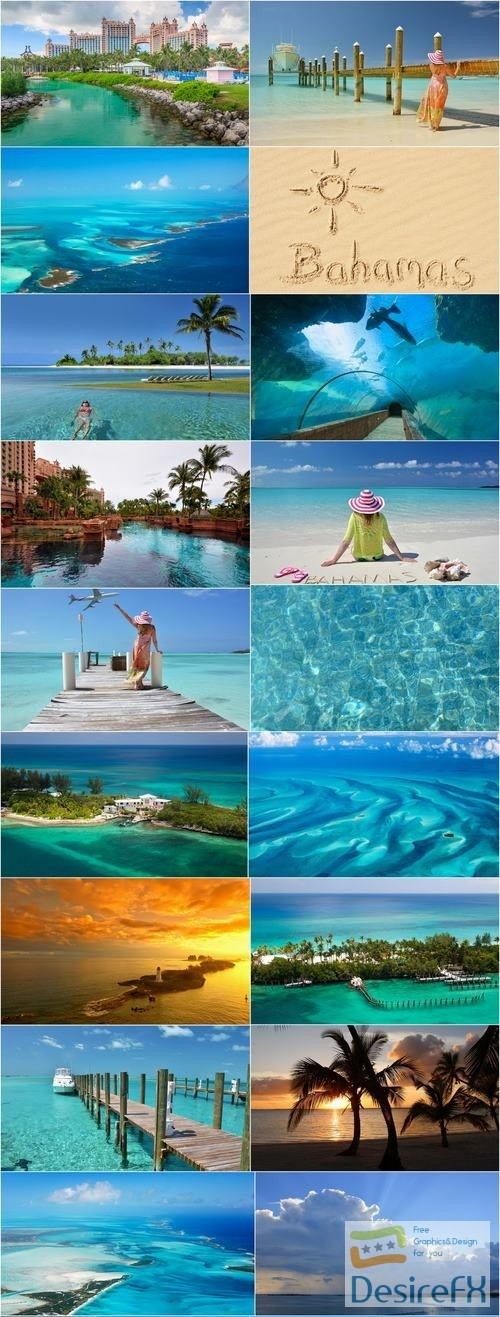 Bahamas beach resort sand sea landscape palm island 25 HQ Jpeg