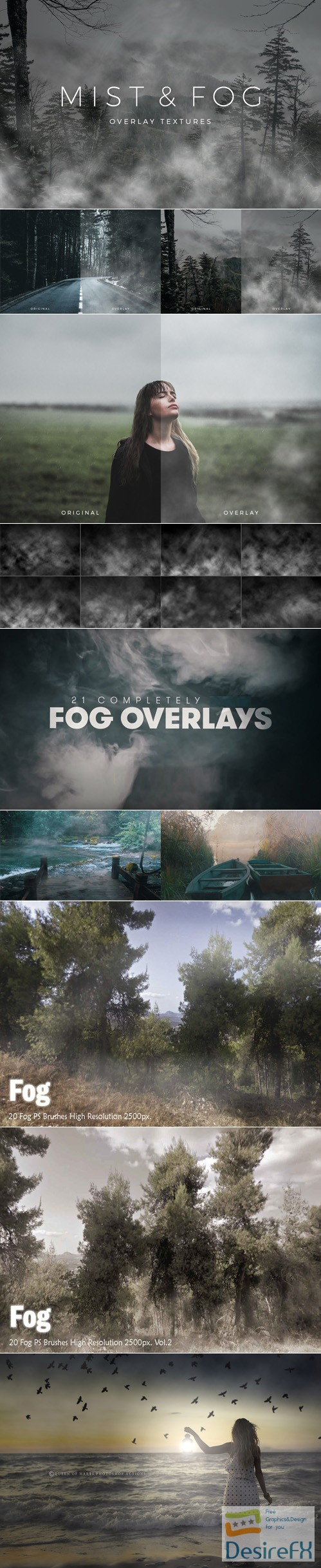 Desirefx com | Download Mist & Fog Overlay [Textures/PS Brushes]
