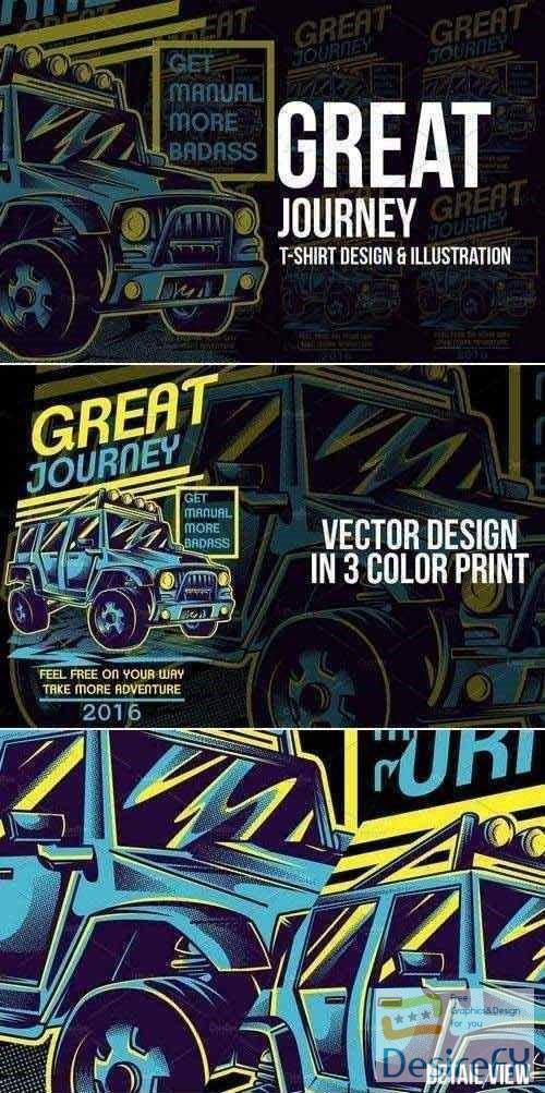 stock-vectors - Great Journey Illustration 526900