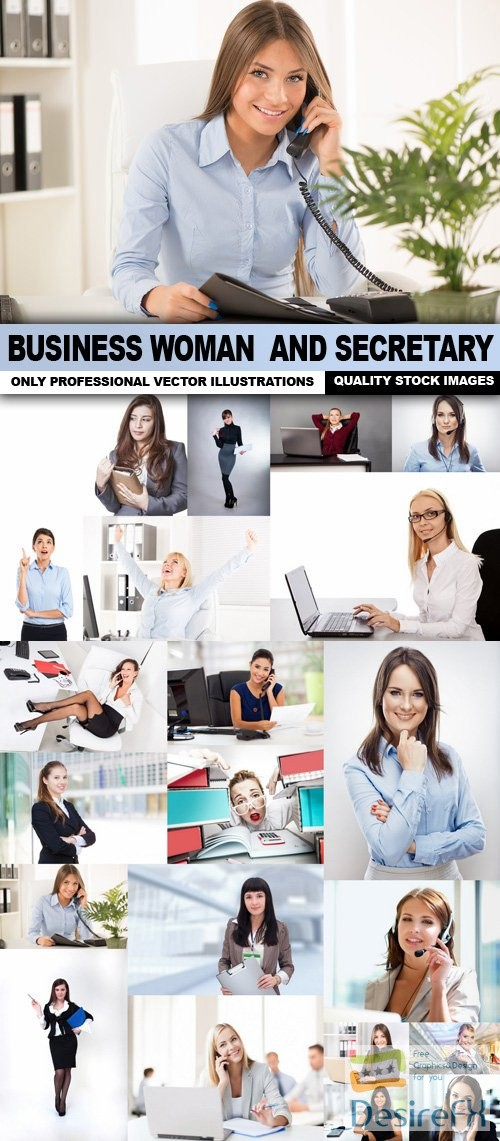 Business Woman And Secretary - 25 HQ Images