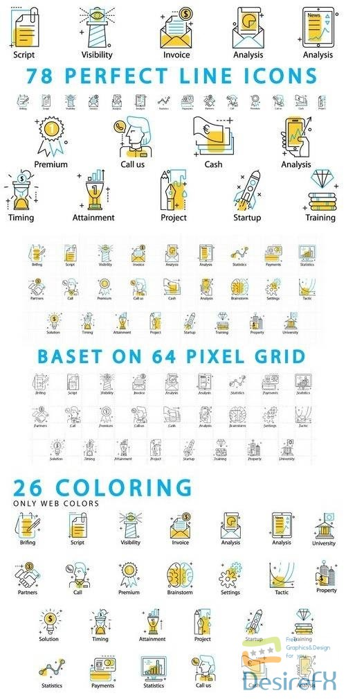 other - 78 Pefect Line Icons 686806