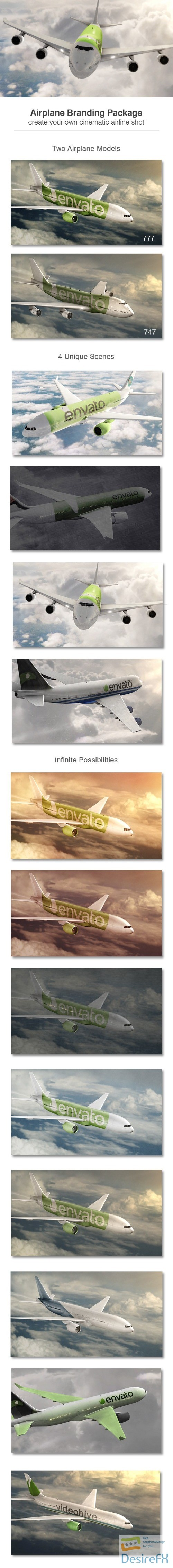 after-effects-projects - Videohive Airplane Branding Package 9365448