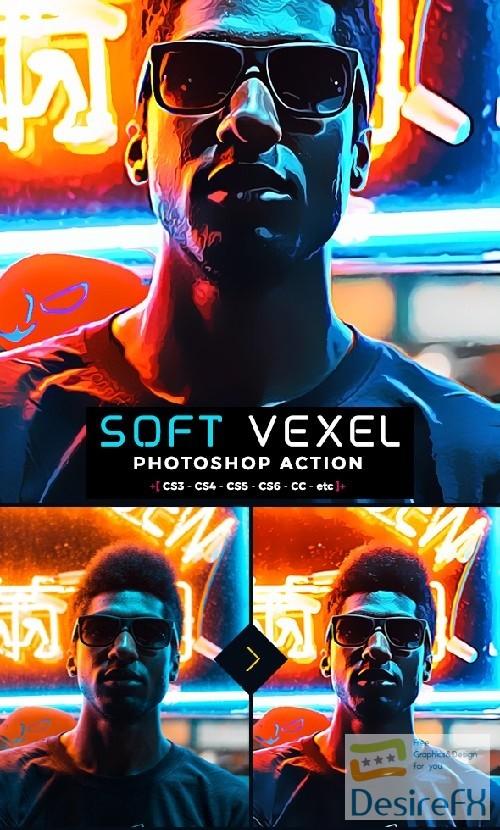 Oil Vexel Photoshop Action 22431250