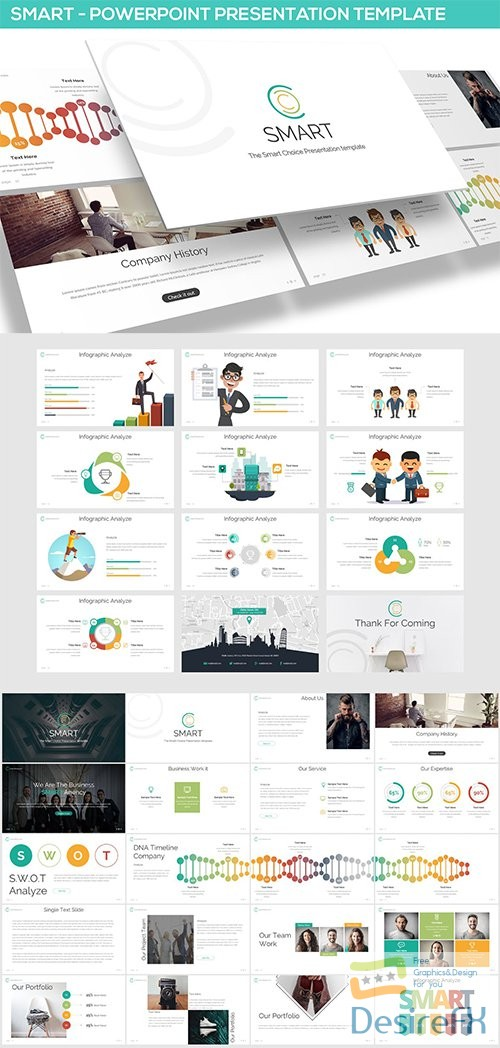powerpoint - Smart - Powerpoint Template