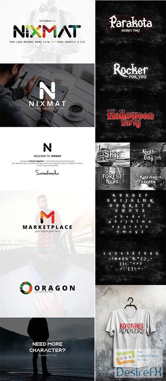 fonts - Mix Fonts Bundle 9