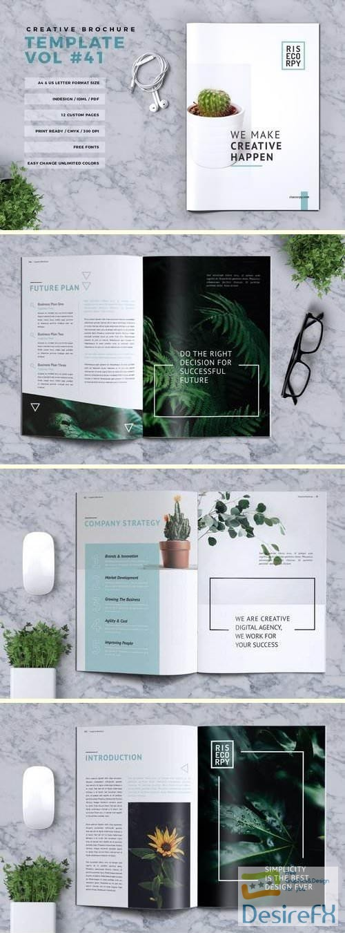 other - Creative Brochure Template Vol. 41