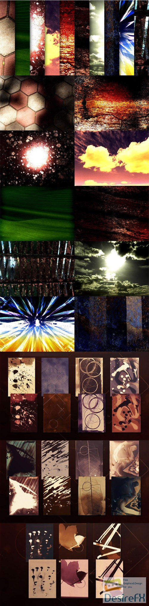32 Dramatic & Artistic Background Textures