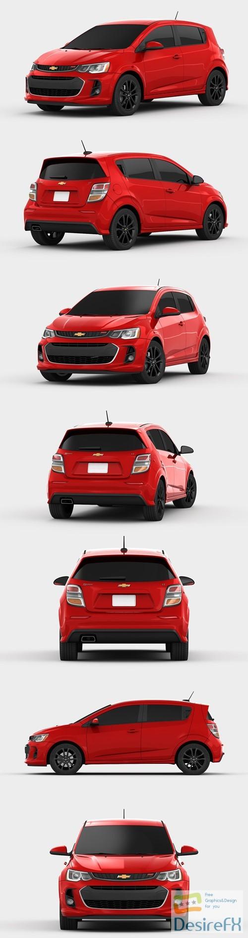 Chevrolet Sonic Hatchback 2017 3D Model