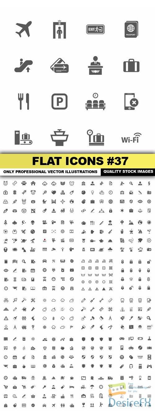 stock-vectors - Flat Icons #37 - 25 Vectors